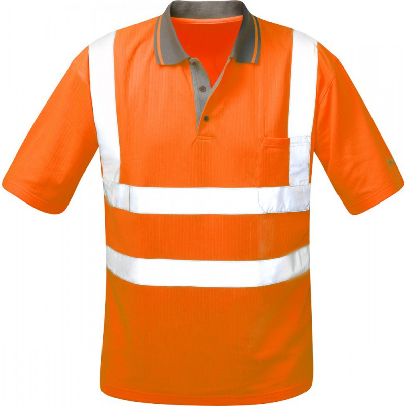 Warnschutz-Poloshirt - Orange